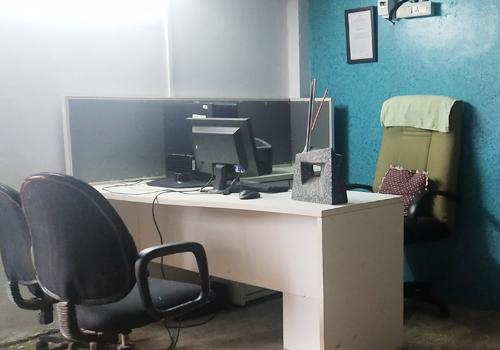 Newly renovated office of Rukmabai Apang Yuvak Swayam Sahayata Kendra