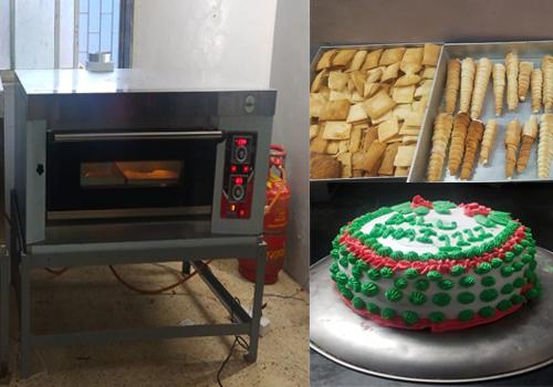 Baking delight.